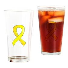 Spina Bifida Ribbon3 Drinking Glass