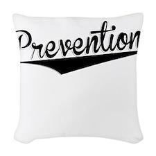 Prevention, Retro, Woven Throw Pillow