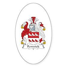 Fenwick Oval Decal