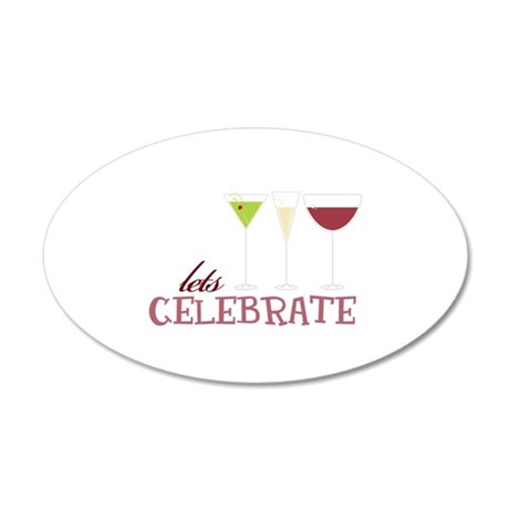 lets CELEBRATE Wall Decal