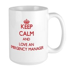 Keep Calm and Love an Emergency Manager Mugs