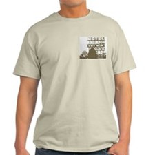 Highway T-Shirt in Ash Gray