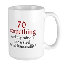 Cute 70th birthday Ceramic Mugs