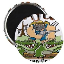 Cajun Homeland Security Magnet