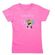 Personalized To Bee Girl's Tee