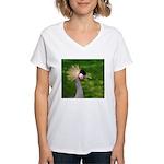 Grey Crowned Crane T-Shirt
