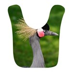 Grey Crowned Crane Bib