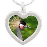 Grey Crowned Crane Necklaces