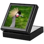 Grey Crowned Crane Keepsake Box