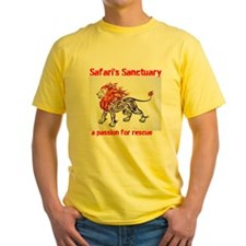 Yellow Lion Passion T-Shirt