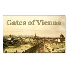 Gates of Vienna Rectangle Decal