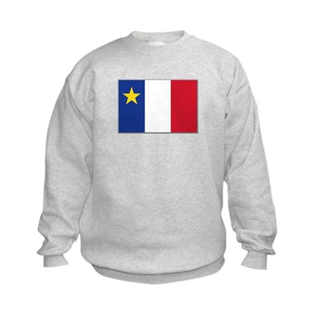 Flag of Acadia Kids Sweatshirt