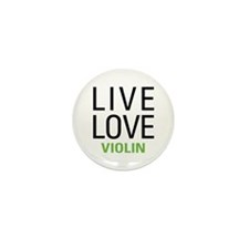 Violin Mini Button (10 pack)
