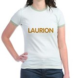 Laurion yellow ringer <br>t-shirt jaune