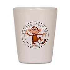 Monkey Junction Shot Glass