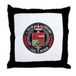 Belgian Police Throw Pillow