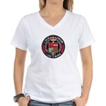 Belgian Police Women's V-Neck T-Shirt