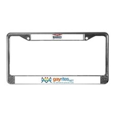 Ohio Marriage Equality License Plate Frame