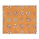 Pizza blanket Fleece Blankets