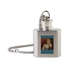 Whine, bitch, nag Flask Necklace