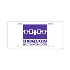 Iroquois Flag Aluminum License Plate