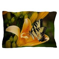 Swallowtail Butterfly Pillow Case