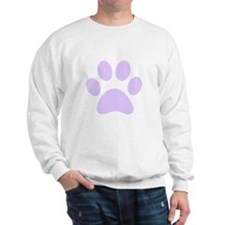 Purple Paw print Jumper