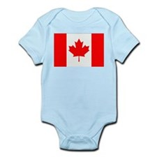 Canada Flag Gifts Body Suit