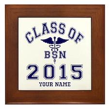 Class Of 2015 BSN Framed Tile