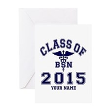 Class Of 2015 BSN Greeting Card