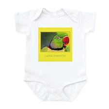 Alexandrine Parrot Infant Bodysuit