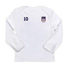 Custom USA Soccer T-Shirt Jersey Long Sleeve T-Shi