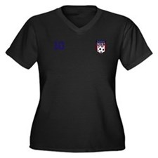 Custom USA Soccer T-Shirt Jersey Plus Size T-Shirt