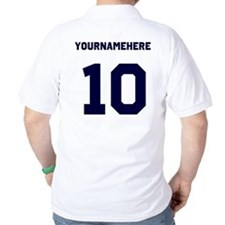 Custom Soccer T-Shirt with name and nombers T-Shirt