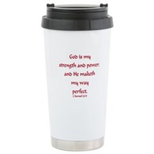 Funny Peace love and jesus Travel Mug