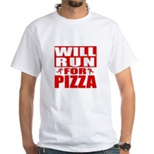 Run for Pizza (Red) T-Shirt