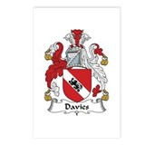 Davies Postcards (Package of 8)