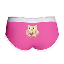 Yellow owl Women's Boy Brief