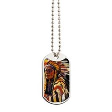 Indian Chief Dog Tags
