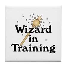 Wizard in Training Tile Coaster