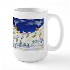 A Tucson Snow Ceramic Mugs