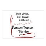 Parson Travel Leash Postcards (Package of 8)