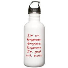 I'm Good with Math (I' Sports Water Bottle