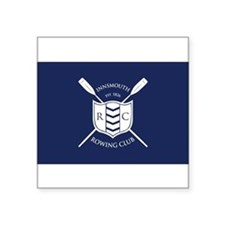 "Unique Rowing club Square Sticker 3"" x 3"""