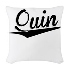 Quin, Retro, Woven Throw Pillow