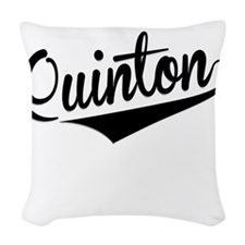Quinton, Retro, Woven Throw Pillow