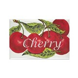 Cherry Rectangle Magnet