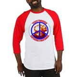 Peace Through Superior Firepower Baseball Jersey