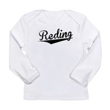 Reding, Retro, Long Sleeve T-Shirt