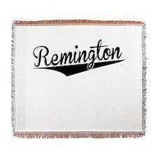 Remington, Retro, Woven Blanket